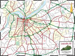 Street Map Orlando Fl by Downtown Louisville Map Downtown Louisville Ky Usa Mappery The
