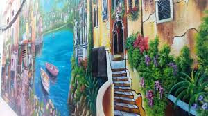 artists add color to hanoi s ally with the venice s 3d painting the painting was painted entirely in arylics 3d with a color tenacity of 10 20 years 3d paintings like this are much harder than ordinary 2d drawings but