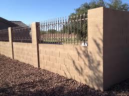 halloween fences block fences darrin gray corp brick fence arizona loversiq