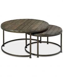 circle wood coffee table amazing dark circle industrial wood coffee table with metal legs 2
