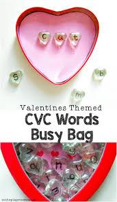 N Cvc Words by Valentine Cvc Word Busy Bag In The Playroom
