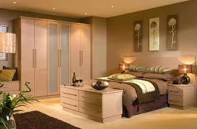 Bedroom  Creative Brown Solid Wood Modern Wardrobe Design Bedroom - Wardrobe designs in bedroom
