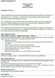 software developer resume sle software developer resumes paso evolist co