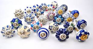 Colorful Kitchen Cabinet Knobs stunning and brilliant blue color ceramic kitchen cabinet knobs