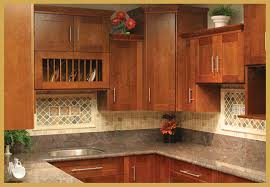 Cherry Kitchen Cabinet Doors Cherry Shaker Kitchen Cabinets Decorating Clear