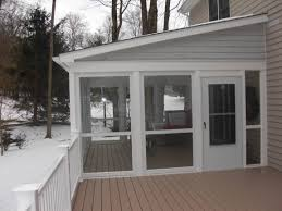 Wind Screens For Decks by Enclose Your Screen Porch Custom Decks Of Fairfield County
