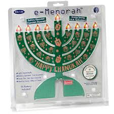 travel menorah electric led cardboard environment friendly menorah