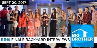 Jeff Schroeder Backyard Interviews Big Brother Backyard Interviews Home Design Inspirations