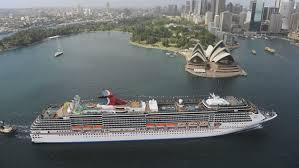 cruises to sydney australia storms in australia strand cruise ship at sea outside sydney