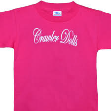 jeep girls sayings crawler dolls pink tshirt