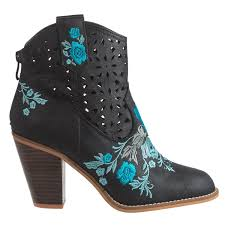 womens boots vegan rebels sherry embroidered boots for save 49