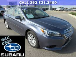 subaru legacy 2016 blue used 2015 subaru legacy for sale kenosha wi