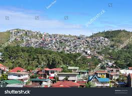 baguio city philippines december 1 cluster stock photo 63970270