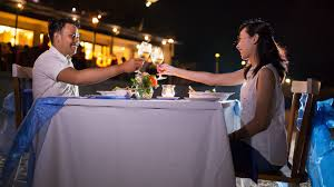 romantic dinner oceana restaurant u0026 bar