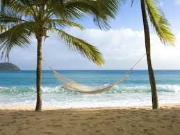 curtain bluff antigua caribbean wedding tropical sky