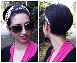 silk headband wide silk headband with hair pink black denim trousers