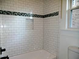 Tile Bathtub Ideas Amused Subway Tile Bathroom Ideas 32 For House Design Plan With