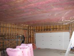 insulation do i need to insulate exposed foundation in my garage