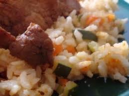 cuisiner porc cuisiner au rice cooker ou le riz coco et porc mariné recette