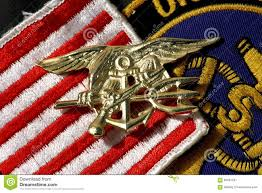 Navy Flag Meanings Navy Seals Insignia Trident Stock Image Image 60687297