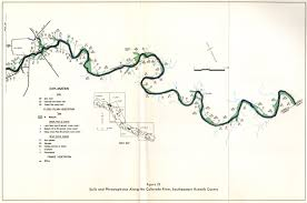 Colorado River Texas Map by Numbered Report 182 Texas Water Development Board