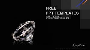 Luxury Diamond Powerpoint Templates Cool Ppt Designs