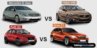 mercedes a class vs b class mercedes b class vs volvo v40 vs audi q3 vs bmw x1