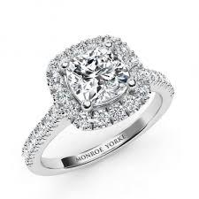 halo wedding rings images Summer gia cushion cut diamond halo engagement ring jpg