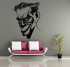 joker stickers why so serious wall vinyl decals home interior zoom