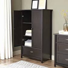 Black Armoire Wardrobe Furniture Black Armoire Wardrobe Furniture Grey Room With Wooden Floor
