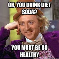 Coke Meme - when that person with a diet coke gives my regular coke the evil eye