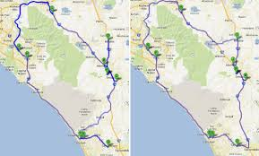 Truck Route Maps Fleet Management Route Optimisation