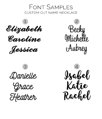 Sterling Silver Nameplate Necklace Sterling Silver Nameplate Necklace Custom Name Necklace
