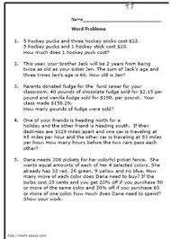 collection of solutions 7th grade math word problems worksheets