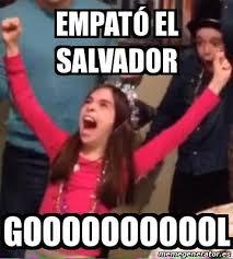 Funny Salvadorian Memes - memes del empate de último minuto de el salvador ante costa rica