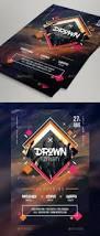 dj u0027s all night flyer psd templates futuristic and template
