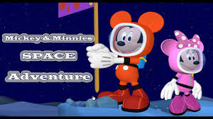 mickey mouse clubhouse games mickey u0026 minnie u0027s space adventure