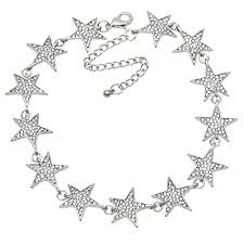 star statement necklace images Necklace chain extender rhinestone star collar chokers necklace jpg