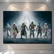 Home Decor Posters Assassins Creed Photo Paper Poster Game Poster Home Decoration