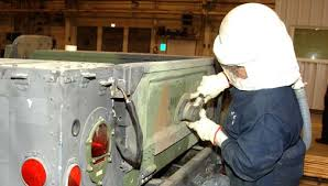military vehicle camouflage carc paint