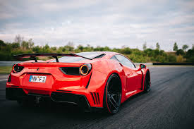 widebody ferrari novitec ferrari 488 n largo takes new widebody kit to the track