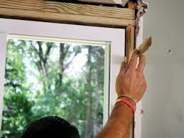 glass door installation how to install sliding glass doors how tos diy