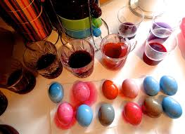 living zbeautiful mix colorful easter eggs naturally