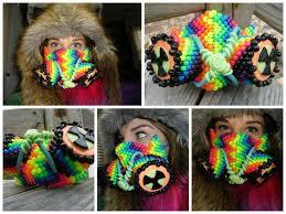 bead masks the radio active kandi mask bead masks kandi mask