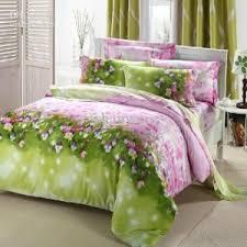Green Comforter Sets Amusing Pink Green Comforter Sets Marvelous Home Designing