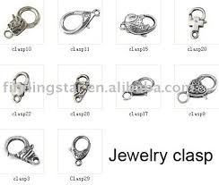 clasp necklace types images Buy 50 pcs assorted tibetan silver jewelry clasp jpg