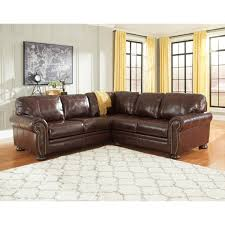Benchcraft Furniture Ashley Furniture Banner Sectional In Coffee Local Furniture Outlet