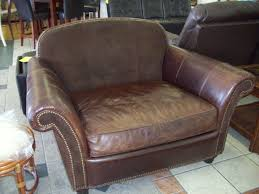 furniture exciting brown leather armchair by bernhardt sofa for
