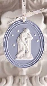 wedgwood jasperware blue ornament