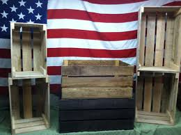 rustic wood for sale shop for wooden crates at crateland